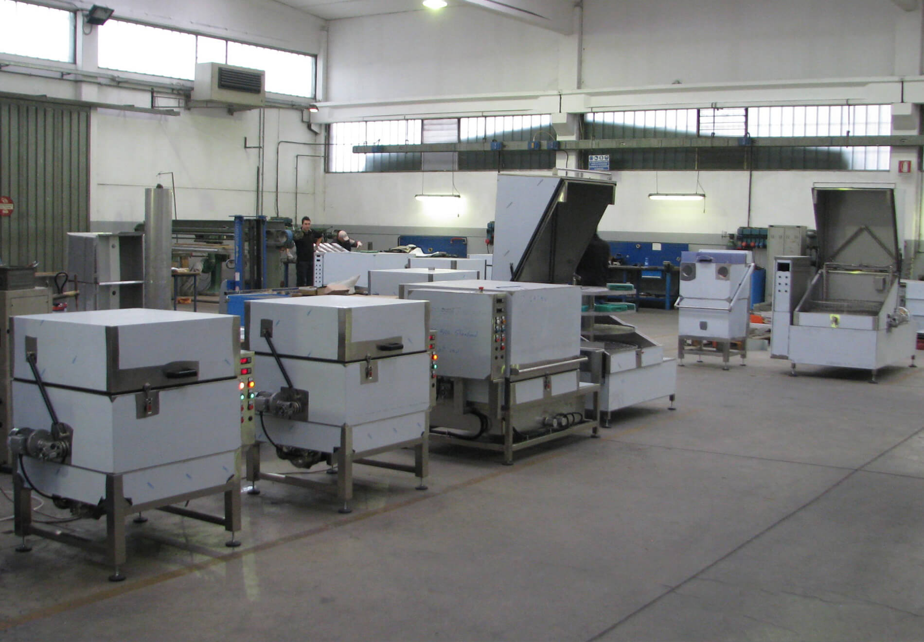 Capannone Ellegelle Machinery