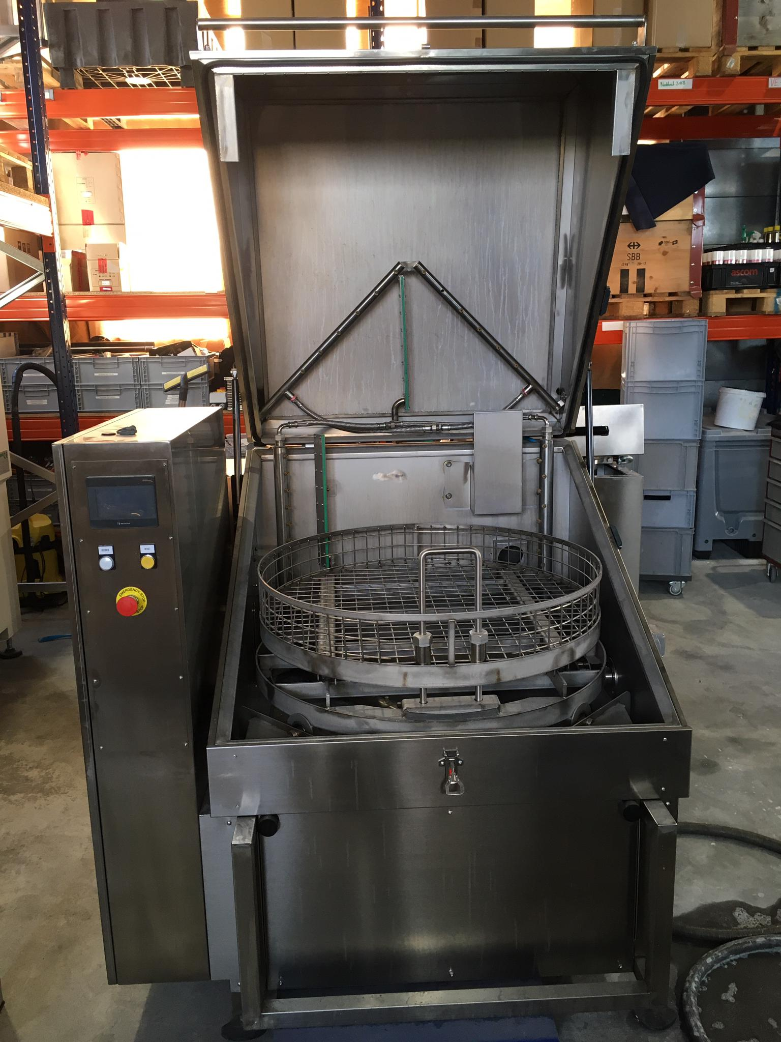 Used parts washer